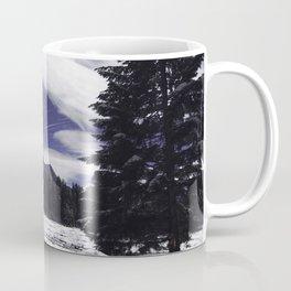 Star Trails in Mount Rainier National Park Coffee Mug