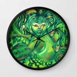 Serpent's Femme Fatale  Wall Clock
