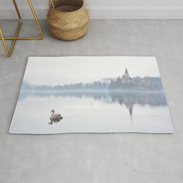 The Mists of Lake Bled Rug