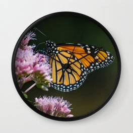 August Monarch Wall Clock