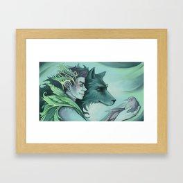 The Forest Prince Framed Art Print