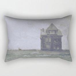 American gothic lost Rectangular Pillow