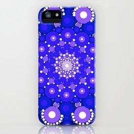 Blue Mandala iPhone Case