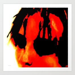 Better burn out then fade away (they say) Art Print