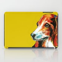 beagle iPad Cases featuring Beagle by James Peart