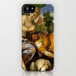 "Veronese (Paolo Caliari) ""Venus and Adonis"" iPhone Case"