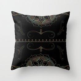 Henna Ombre Throw Pillow