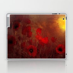 FLOWERS - Poppy heaven Laptop & iPad Skin
