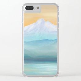 Sunrise Fuji Mount Clear iPhone Case