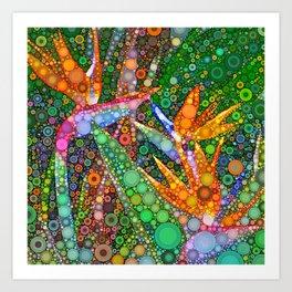 Fiesta in Paradise Art Print