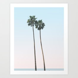 PALMS TOO Art Print