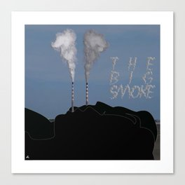 The Big Smoke - Dublin Canvas Print