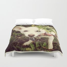 Looking Lobo Duvet Cover