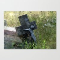 jesus Canvas Prints featuring Jesus by LoRo  Art & Pictures