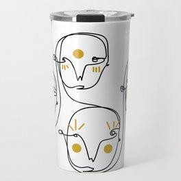 Mellow faces Travel Mug
