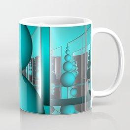 room  with mirrors -b- Coffee Mug