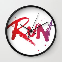 Run Wall Clock