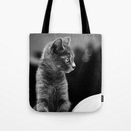 fluffy kitten Tote Bag
