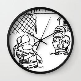 Prospector Ape Visits Ft. Knox Wall Clock