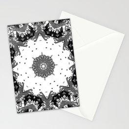 Star Symmetry Stationery Cards