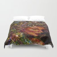 medusa Duvet Covers featuring Medusa.... by shiva camille