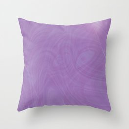 Purple Puddle Throw Pillow