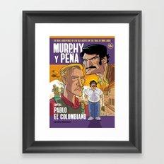Murphy y Pena Framed Art Print