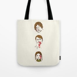 No Evil  Cannibalism Tote Bag