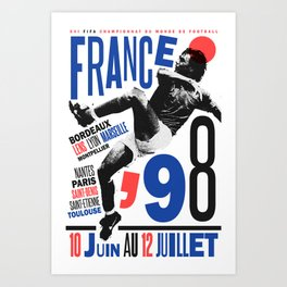 World Cup: France 1998 Art Print