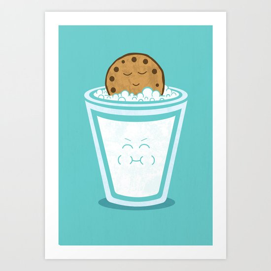 Hot Tub Cookie Art Print