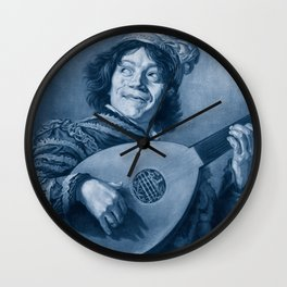 "Frans Hals ""The Lute Player"" Wall Clock"