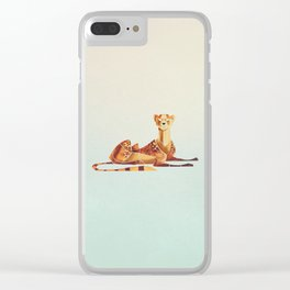 Cheetah 2 Clear iPhone Case