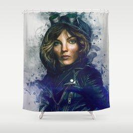 Selina Kyle Shower Curtain