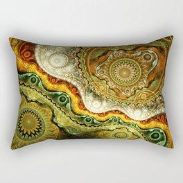Autumn - Abstract Fractal Artwork Rectangular Pillow