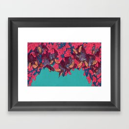 Out of Sight, Out of Mind Framed Art Print