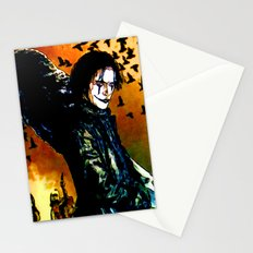 The Crow - Colored Sketch Stationery Cards