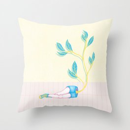 The Renaissance of Your Intentions Throw Pillow