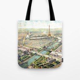 Paris World Fair 1900 Tote Bag