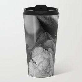 Camellia Black and White 2 Travel Mug