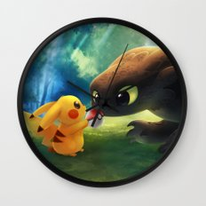 Gotcha Wall Clock