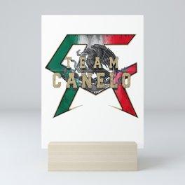 Canelos Funny Saul Alvarez boxer T-Shirt Mini Art Print