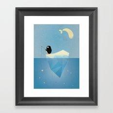 FISHER OF STARS Framed Art Print