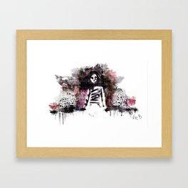 Soldados muertos (color version) Framed Art Print