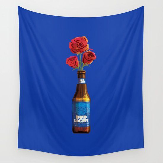 Dudes Love Roses (Blue) by jasonwaithe