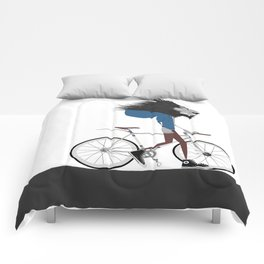 Hipster Lion and his Bicycle Comforters