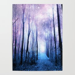 Fantasy Forest Path Poster