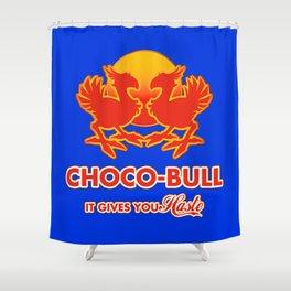 Final Fantasy VII - Choco-Bull Energy Drink Shower Curtain