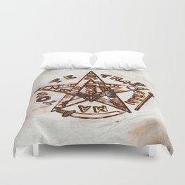 Freemasonic Symbolism by PB Duvet Cover