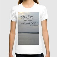 scripture T-shirts featuring Hilton Head Island, Scripture by Stephanie Stonato