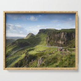 The Road to the Quiraing II Serving Tray